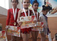 В Навои прошел турнир по гимнастике