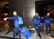 Uzbekistan national team arrive for training camp in Antalya