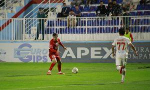 «Навбахор» провел контрольный матч против дебютанта Суперлиги