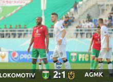 FC Lokomotiv earn a comeback win over FC AGMK in Tashkent