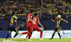 Igor Sergeev's decider ensures a place for FC Pakhtakor in the last eight