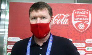 Андрей Федоров прокомментировал результаты жеребьевки Кубка Узбекистана