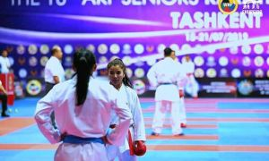 Uzbek karatekas shine at the 2019 AKF Senior Karate Championships in Tashkent