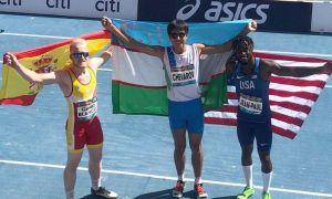Бекжон Чеваров выиграл путёвку на Паралимпийские игры в Токио