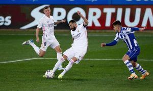 """Реал"" сафарда йирик ҳисобда ғалаба қозонди. Бенземадан дубль (видео)"