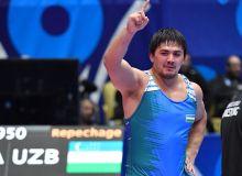 Эркин кураш: Ҳасан Раҳимов Олимпиада лицензиясини қўлга киритди