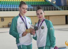 В первый день лицензионного чемпионата Азии наши девушки завоевали золотые медали