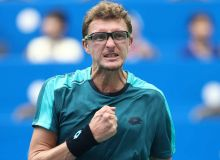 Denis Istomin advances to quarterfinals at the ATP Challenger Newport Beach