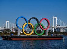 Олимпия халқалари Токио кўрфазига қайтарилди