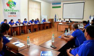 В Ташкенте завершился курс ФИФА по элитному юношескому футболу