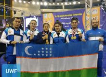 Сборная Узбекистана по тяжелой атлетике успешно выступила в рамках рейтингового турнира в Египте