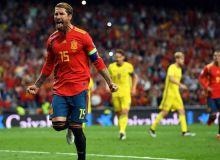 Испания – Швеция 3:0 (видео)