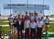 Очередной турнир по велоспорту