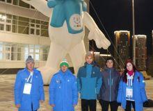 Спортсмены Узбекистана находятся на Всемирной зимней универсиаде в Красноярске