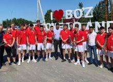 Команда футбольной академии Берлина прибыла в Андижан для проведения товарищеских матчей
