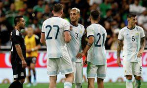 Аргентина - Мексика 4:0 (видео)