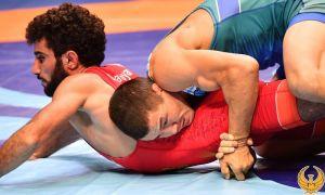 Эльмурат Тасмурадов завоевал лицензию в Токийскую Олимпиаду