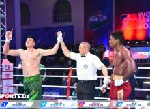 WSB. Uzbek Tigers jump to the first place in Group A