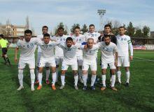 FC Dinamo warm up with FC Jomboy friendly in Samarkand