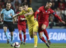 Евро-2020 саралаши. Португалия – Украина учрашувида ҳисоб очилмади