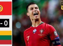 Евро-2020 саралаш босқичи. Роналдунинг бенефисига айланган учрашувда Португалия йирик ҳисобдаги ғалабани қўлга киритди