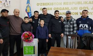 Avliyokhon Khamidov was awarded by the Andijan regional branch of the MMA Association of Uzbekistan