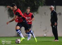 Национальная сборная Узбекистана провела первую тренировку в Аль-Айне