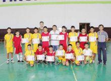 В Заамине состоялся открытый турнир по мини-футболу