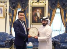 Умид Ахматджанов встретился с президентом Азиатской Конфедерации велоспорта