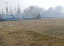 На домашнем стадионе клуба «Коканд-1912» начались работы