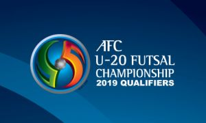 Press conference ahead of 2019 AFC U-20 Futsal Championship Qualifiers opening to take place at Uzbekistan Hotel