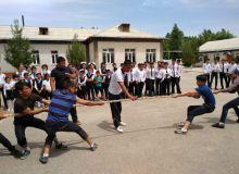 В Намангане проходит спортивный фестиваль среди молодежи