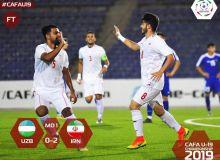 Uzbekistan begin their 2019 CAFA U-19 Championship campaign with a 2-0 defeat to Iran