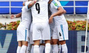 """ЖЧ-2022"" саралаши. Уругвай Колумбия майдонидан йирик ғалаба билан қайтди"