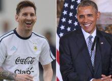 Барак Обама нега Месси Аргентина терма жамоасида муваффақиятга эриша олмаслигини айтди
