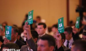 Photo Gallery. Uzbekistan Football Association Presidental Election in Photos