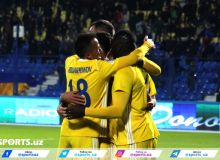 FC Pakhtakor stun Colombe Sportive with a 6-0 victory