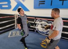 Melikuziev is finalizing the training process before his fight against Gabriel Rosado