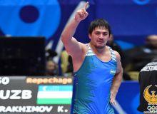 Эркин кураш бўйича жаҳон чемпионатининг бугунги куни бронза медали билан якунланди