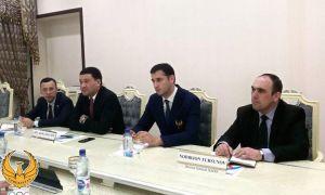 Умид Ахматджанов принял генерального менеджера Азиатской федерации каратэ