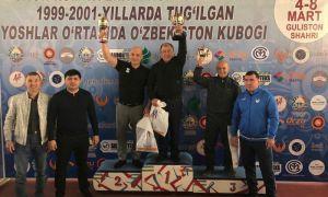 Андижан выиграл Кубок Узбекистана по греко-римской борьбе