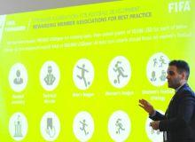 Представитель ФИФА ознакомился с деятельностью АФУ