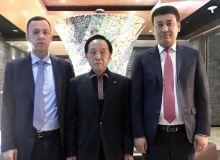 Умид Ахматджанов в Сеуле провел встречу с президентом Азиатского союза таэквондо