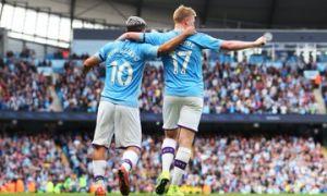 """АПЛ. """"Манчестер Сити"""" йирик ҳисобда ғалаба қозонди, """"Челси"""" тайёр ғалабани қўлдан чиқарди"""