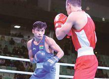 Боксеры Узбекистана в полуфинале турнира в Индии