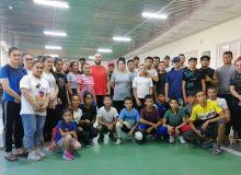 Для молодёжи Навоийской области был организован мастер-класс с участием Олимпийских чемпионов