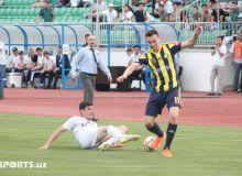 Фотообзор матча «Андижан» - «Пахтакор»