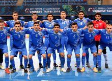 Национальная сборная Узбекистана по футзалу примет участие в международном турнире в Таиланде