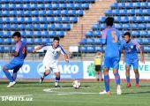 AFC U-16 Qualifiers. Uzbekistan 1-1 India
