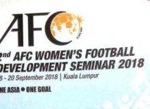 В Малайзии проходит семинар элитных тренеров АФК по женскому футболу.
